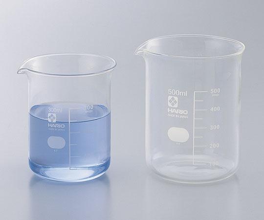 アズワン ビーカー (目安目盛付き) 6-214-10 《実験器具・材料・備品》