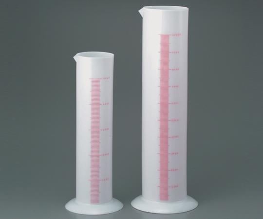 アズワン ポリシリンダー (PE) 6-239-12 《実験器具・材料・備品》