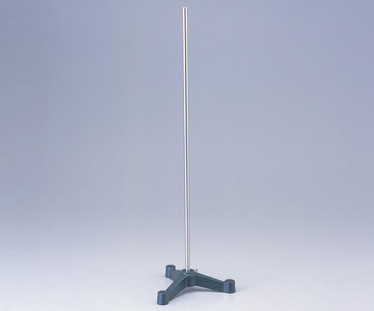 アズワン ステンレスシャフトスタンド (三足) 1-9789-01 《実験器具・材料・備品》