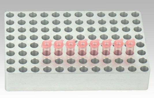 アズワン ドライバス・インキュベーター FBLOCK-96(マイクロプレート用ブロック) (1-2921-16) 《研究・実験用機器》