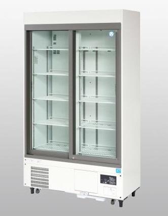 【直送品】 アズワン 冷蔵ショーケース FMS-400GH (1-5460-35) 《研究・実験用機器》 【特大・送料別】