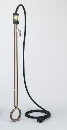 アズワン チタン製投込みヒーター LYMBT110 (1-9857-15) 《研究・実験用機器》