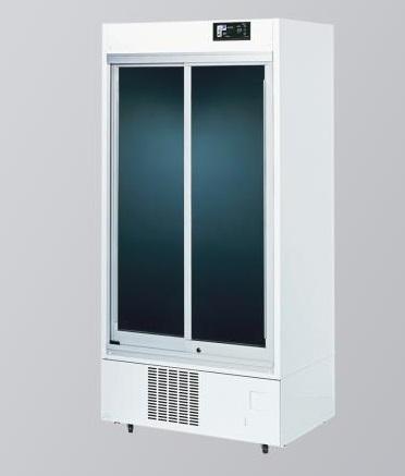 【直送品】 アズワン インバータ薬用冷蔵ショーケース IMS-552S (2-1199-05) 《研究・実験用機器》 【特大・送料別】