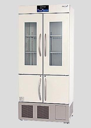 【直送品】 アズワン 薬用冷凍冷蔵庫 FMS-F304G (2-8685-01) 《研究・実験用機器》 【特大・送料別】