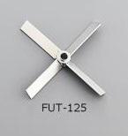 アズワン トルネード用撹拌羽根 FUT-125 (1-5505-24) 《研究・実験用機器》
