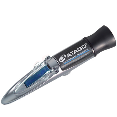 アタゴ (ATAGO) 自動温度補正・防水機能付手持屈折計 MASTER-53α (NO2351)
