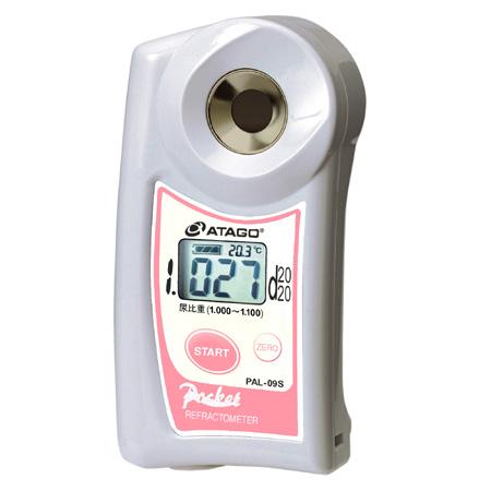 アタゴ (ATAGO) ポケット尿比重屈折計 PAL-09S (NO4409)