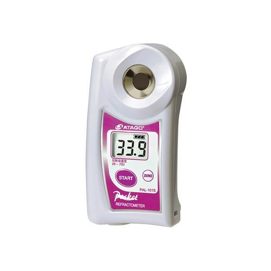 アタゴ (ATAGO) ポケット切削油濃度計 PAL-101S (NO4501)