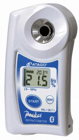 アタゴ (ATAGO) ポケット糖度・濃度計 PAL-1 BLT/i (No3810i)