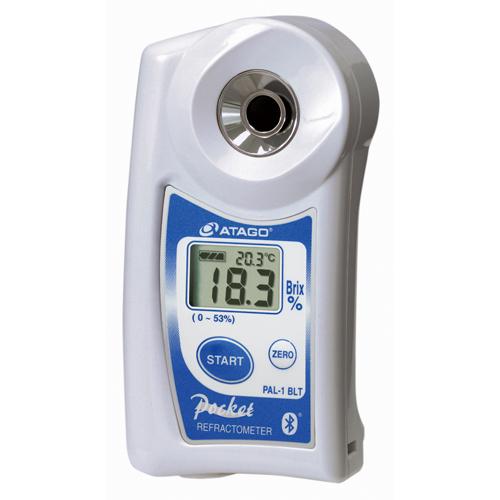 アタゴ (ATAGO) ポケット糖度・濃度計 PAL-1 BLT/A+W (No4810)