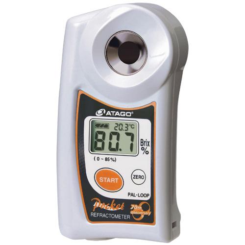 アタゴ (ATAGO) ポケット糖度・濃度計 PAL-LOOP (No3842)