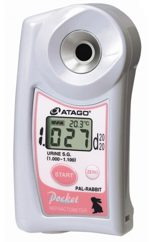 アタゴ (ATAGO) ポケットうさぎ尿比重屈折計 PAL-RABBIT (No4512)