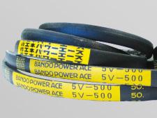 【直送品】 バンドー 省エネパワーエース 8V1320 (8V-1320) 《省エネVベルト》