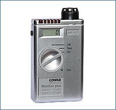 日本製 COMPUR plus:道具屋さん店 Monitox (COSMOS) ポケッタブル型毒性ガス検知器 コンパーモニトックスプラスN 新コスモス電機-DIY・工具