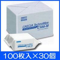 日本製紙クレシア テクノワイプ C100-M (100枚入×30個) 【大型】