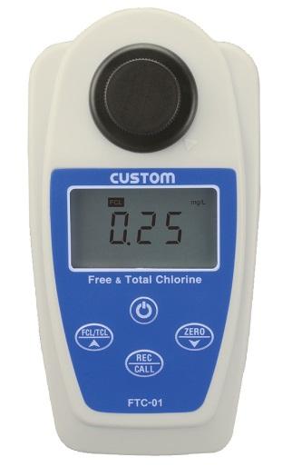 未来を見つめる環境調和型メーカー カスタム 結婚祝い CUSTOM FTC-01 481-0384 爆買い新作 残留塩素計