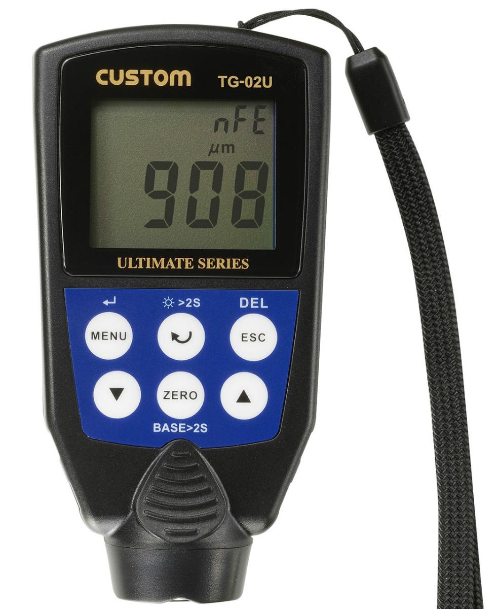 カスタム (CUSTOM) デジタル膜厚計 TG-02U (491-7502)