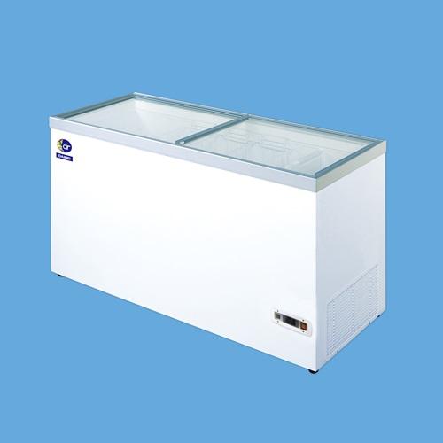 おいしさを延ばす魔法のストッカー 直送品 ダイレイ 超低温冷凍ショーケース 大型 HFG-400e 個人宅配送不可 豊富な品 お気に入り 法人向け