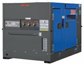 【直送品】 Denyo (デンヨー) エンジンコンプレッサ DAS-180LB 超低騒音型標準タイプ 【大型】