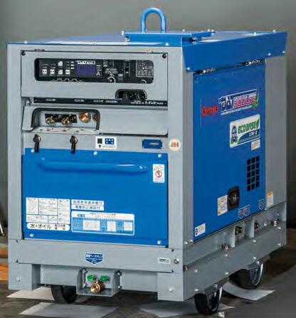 【直送品】 Denyo (デンヨー) TIG溶接機(エコベース) DAT-300LSE 超低騒音型 【大型】