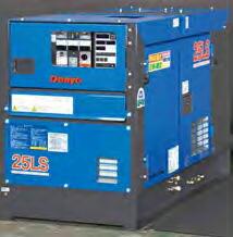 第3次排出ガス対策型建設機械対応機  【直送品】 Denyo (デンヨー) ディーゼル発電機 DCA-25LSK 切替付(単相・三相) 【大型】