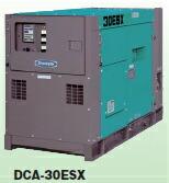 高級素材使用ブランド DCA-30ESX 【直送品】 (△)防音型 ディーゼル発電機 【大型】:道具屋さん店 Denyo (デンヨー)-DIY・工具