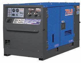 【直送品】 Denyo (デンヨー) エンジンコンプレッサ DIS-70LB 超低騒音型標準タイプ 【大型】