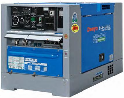 【直送品】 Denyo (デンヨー) ディーゼルエンジン溶接機 DLW-320LS2 超低騒音型 【大型】