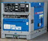 【直送品】 Denyo (デンヨー) ディーゼルエンジン溶接機 DLW-400LSWE 超低騒音型 【大型】
