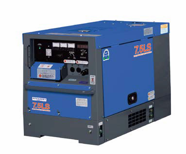 【直送品】 Denyo (デンヨー) 小型・中型ディーゼル発電機 TLG-7.5LSK 防音型(三相機) 【大型】