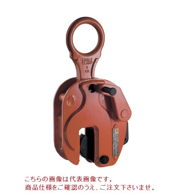 世界のあらゆる工事・製造現場で選ばれている!  【直送品】 イーグル・クランプ 鉄鋼縦つり用クランプ RS-5 (5~40) ローレット仕様 (0205R400)