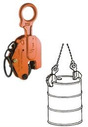 世界のあらゆる工事・製造現場で選ばれている! 【直送品】 イーグル・クランプ ドラム缶用クランプ DL-500 (06000000)