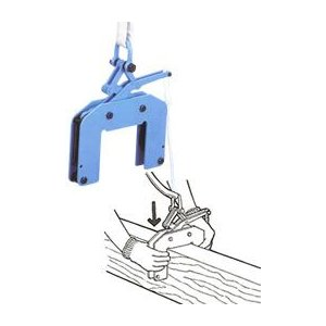 世界のあらゆる工事 製造現場で選ばれている 直送品 イーグル クランプ 木質梁つり用クランプ 39R00125 ECHR-200 105~125 まとめ買い特価 アウトレット