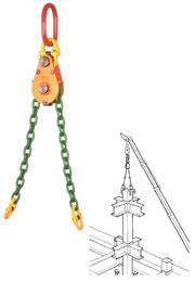 【代引不可】 イーグル・クランプ EQF型 チェーンバランサー EQF-10 (00510003) 【メーカー直送品】