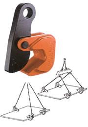 世界のあらゆる工事・製造現場で選ばれている!  【直送品】 イーグル・クランプ 鋼板水平つり用クランプ HOS-1 (8~40) (12010400)