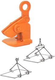 イーグル・クランプ HOW型 鋼板水平つり用クランプ HOW-2.5 (11520600)