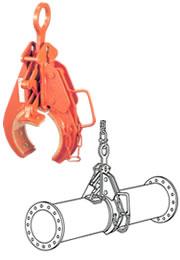 世界のあらゆる工事・製造現場で選ばれている! 【直送品】 イーグル・クランプ パイプ横つり用クランプ KH-100 (46921250)