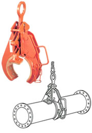 【代引不可】 イーグル・クランプ KH型 パイプ横つり用クランプ KH-500 【メーカー直送品】