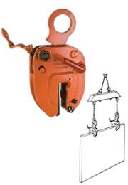 世界のあらゆる工事・製造現場で選ばれている!  【直送品】 イーグル・クランプ 鋼板縦つり用無傷クランプ NE-2 (5~30) (08020300)