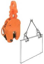 【代引不可】 イーグル・クランプ SLT型 鋼板縦つり用クランプ SLT-5 (5~40) (03050400) 【メーカー直送品】