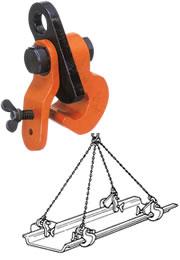 世界のあらゆる工事・製造現場で選ばれている! 【直送品】 イーグル・クランプ シートパイル用クランプ SP-1 (37999999)