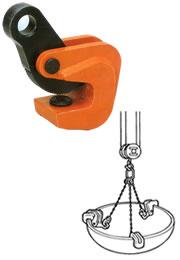 【直送品】 イーグル・クランプ 形鋼横つり用クランプ VA-500 (3~30) (16000300)