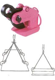 【代引不可】 イーグル・クランプ VAFS型 鋼板水平つり用クランプ VAFS-600-5-30 (13960300) 【メーカー直送品】