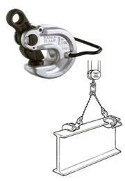 世界のあらゆる工事・製造現場で選ばれている!  【直送品】 イーグル・クランプ 形鋼横つり用クランプ VAN-2 (5~30) (16020300)