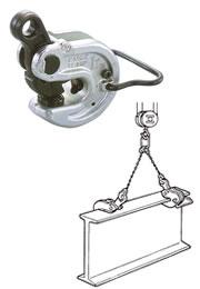 世界のあらゆる工事 製造現場で選ばれている 直送品 イーグル クランプ ☆最安値に挑戦 16020301 VANL-2 形鋼横つり用クランプ 5~30 国内在庫