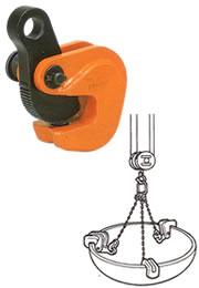 【直送品】 イーグル・クランプ 形鋼横つり用クランプ VAS-2 (5~36) (17020350)