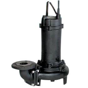 【直送品】 エバラポンプ(荏原製作所) DL型 汚水汚物用水中ポンプ 100DL65.5 (5.5kw 200V 60HZ)