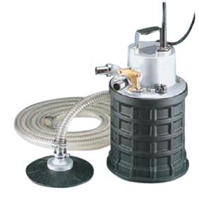 【直送品】 エバラポンプ(荏原製作所) EBQ型 残水排水用自吸ポンプ 25EBQ5.4SA (0.4kw 100V 50HZ)