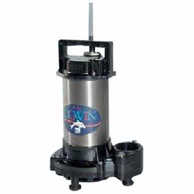 【直送品】 エバラポンプ(荏原製作所) DWT型 チタン・樹脂製海水用水中ポンプ(ダーウィン) 40DWT5.25B (0.25kw 200V 50HZ)