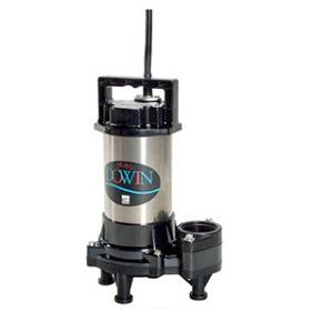 【直送品】 エバラポンプ(荏原製作所) DWV型 樹脂製汚水・汚物用水中ポンプ(ダーウィン) 40DWV5.15A (0.15kw 200V 50HZ)